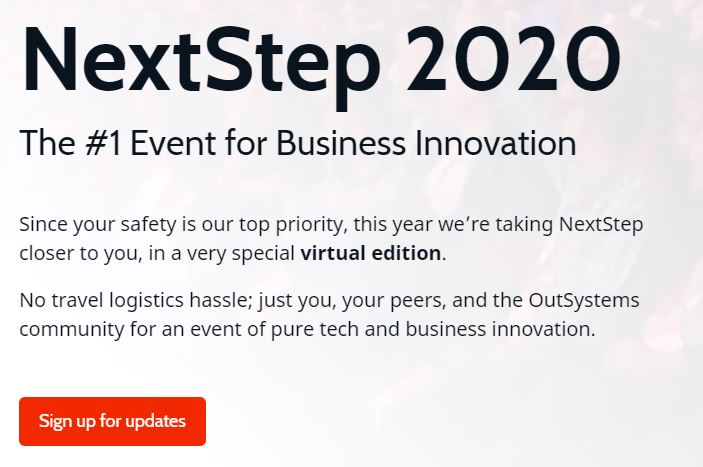 OutSystems NextStep 2020