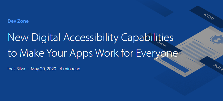 OutSystems Web Accessibility