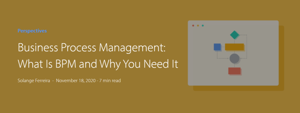 Business Process Management is more than simply workflow automation.